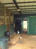 entrance to kitchen & toilet