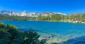 Lake fishing, Mammoth Lakes, California
