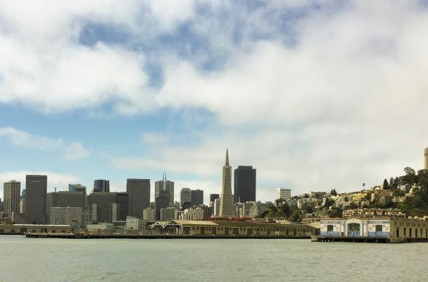 San Francisco, City, Ocean