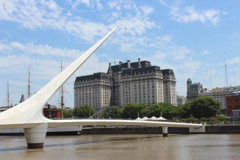 Puerto Madero, Bridge, Buenos Aires